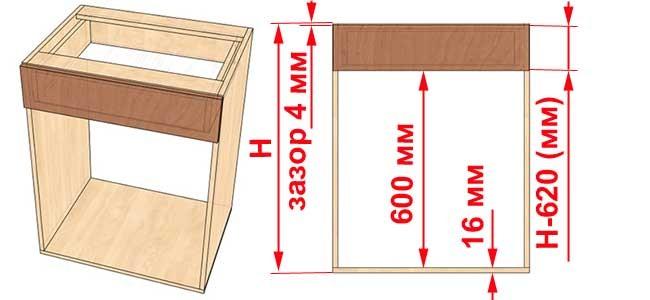 Как самому сделать выдвижной ящик для шкафа