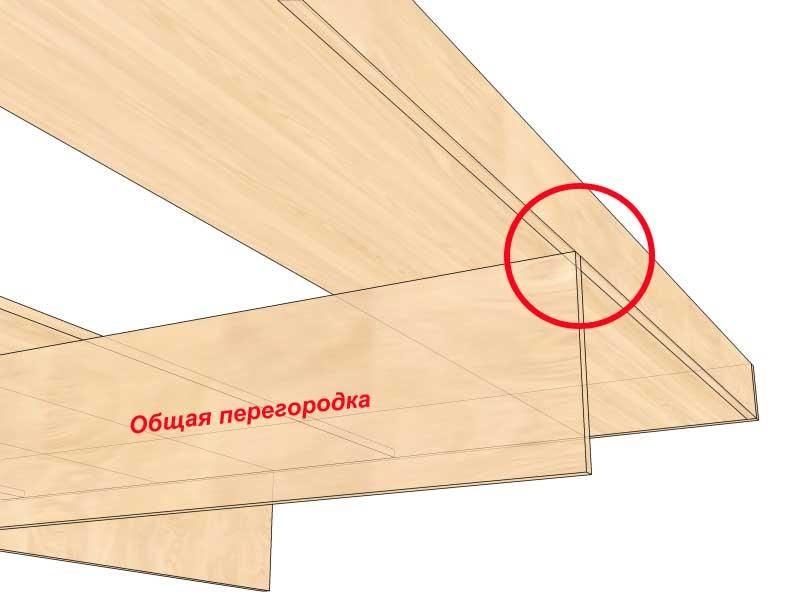 Как сделать кровать с ящиками из дсп своими руками 66