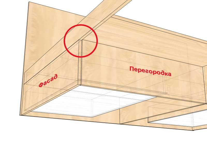 Как сделать кровать с ящиками из дсп своими руками 86