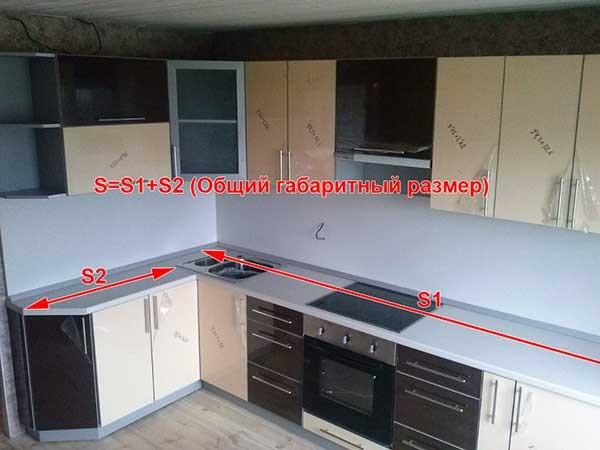 погонный метр кухни