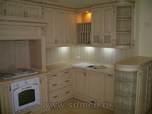 проектировка кухонного гарнитура