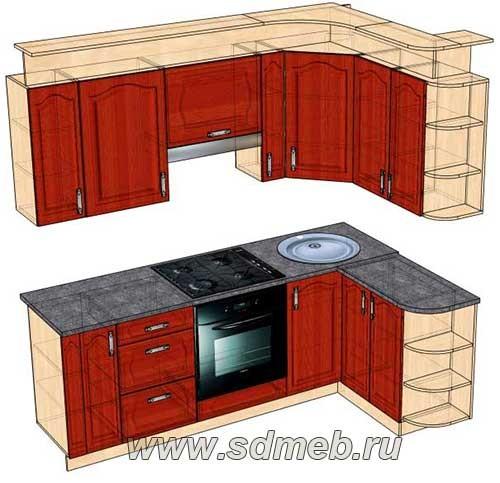карниз для кухни