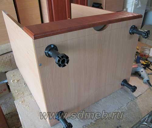 встраиваем духовой шкаф
