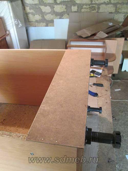 задняя стенка для короба под духовой шкаф