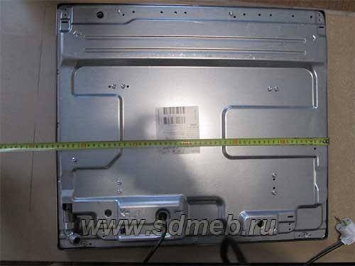 установка варочной панели