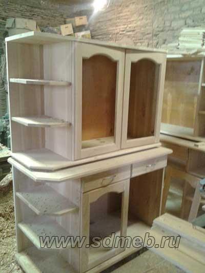 изготовление кухонь из массива дерева