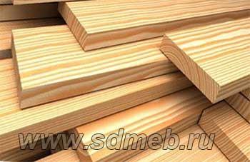 древесный массив