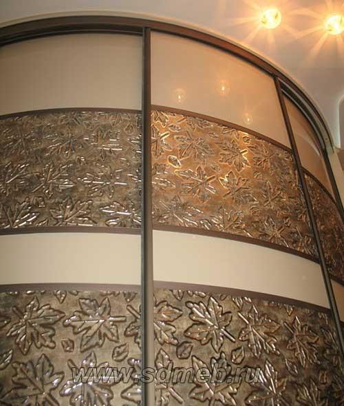 радиусные фасады для шкафов купе