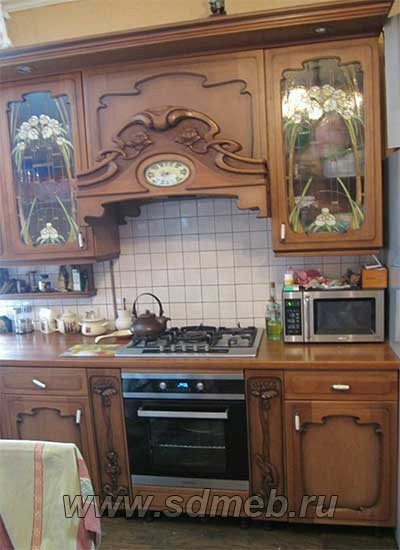 кухни из дерева своими руками