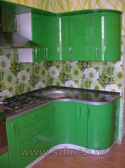 гнутые кухонные фасады