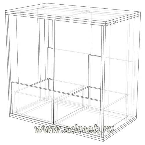 чертежи комода который легко сделать своими руками сделаем мебель