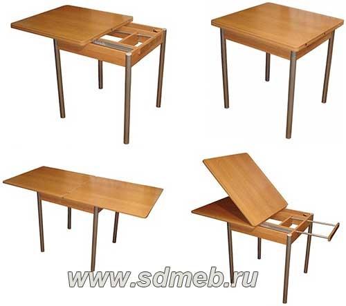 столы для маленьких кухонь