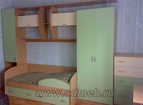 модульная детская мебель
