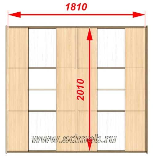 высчитать размеры двуспальных кроватей