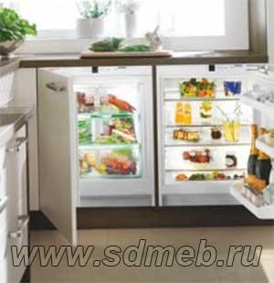 холодильники встраиваемые под столещницу