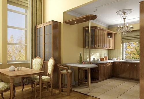 dizajn-kuxni-stolovoj